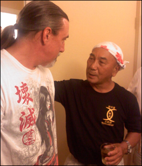 Doug Cobb with Kensho Tokumurav