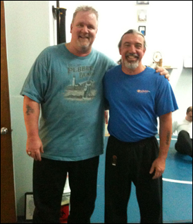 Master Andy Reese with Soke Doug Cobbb