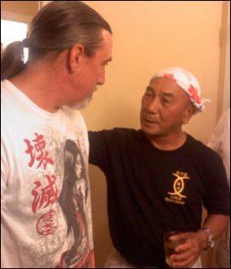 At IHOF with Kensho Tokumurav