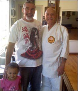 Doug Cobb with Mya Hanshi Perry